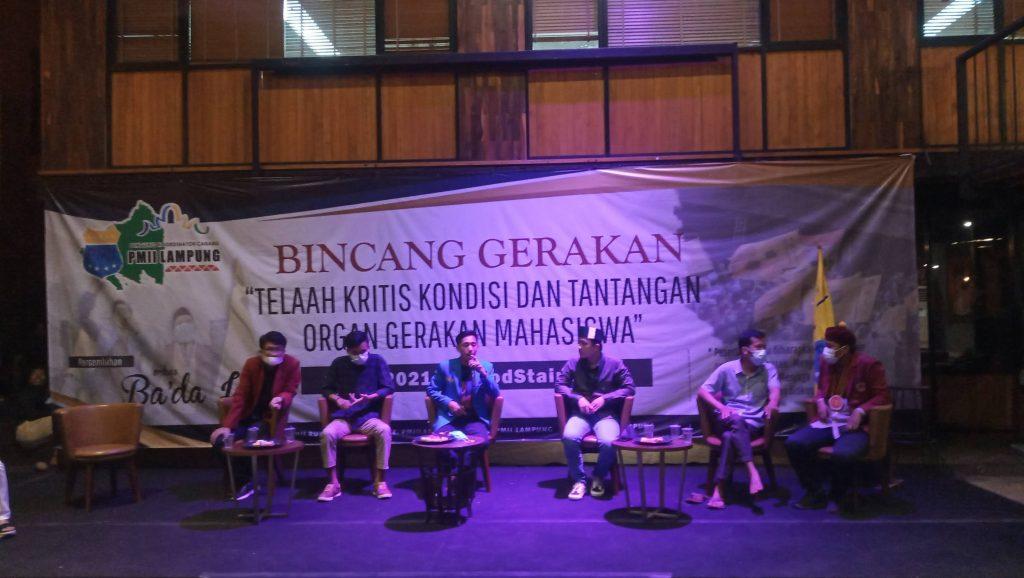 """Gerakan Mahasiswa Kian Redam, PKC PMII Lampung Adakan """"Bincang Gerakan"""""""