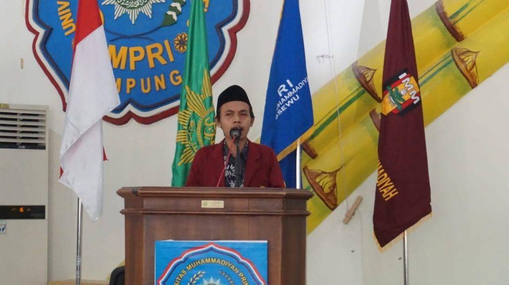 Ikatan Mahasiswa Muhammadiyah UMPRI Adakan Seminar Nasional Gerakan Mahasiswa
