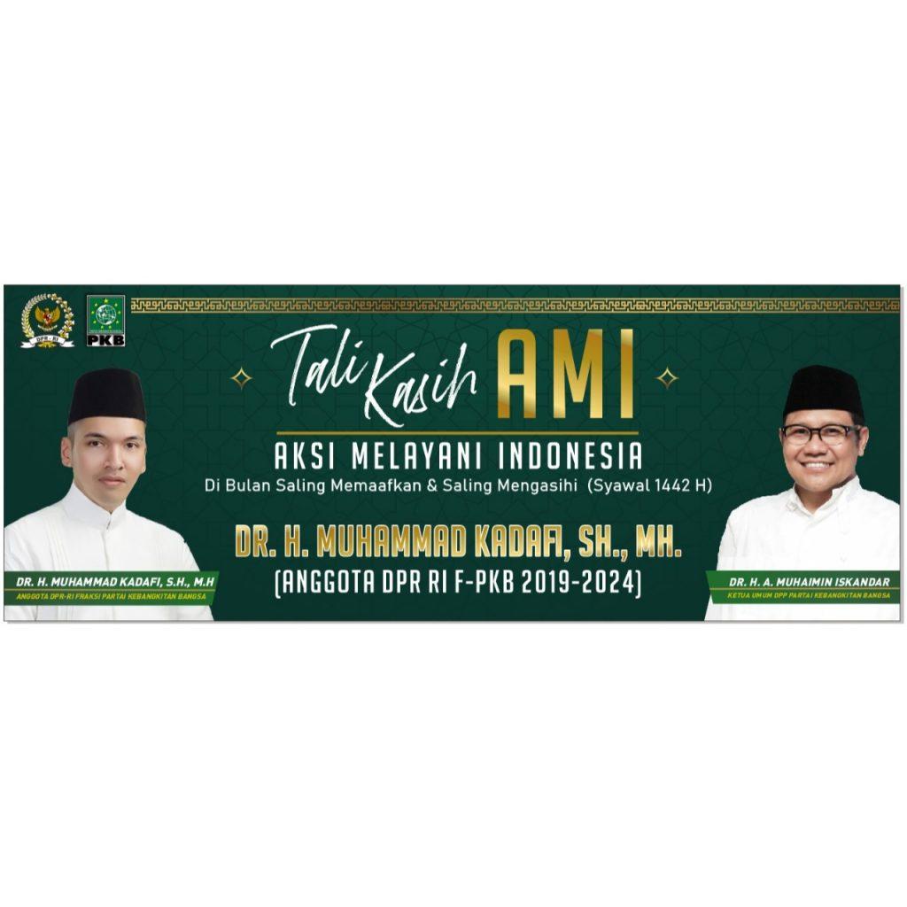 Anggota DPR RI F-PKB Kadafi Galakan Tali Kasih AMI di Provinsi Lampung