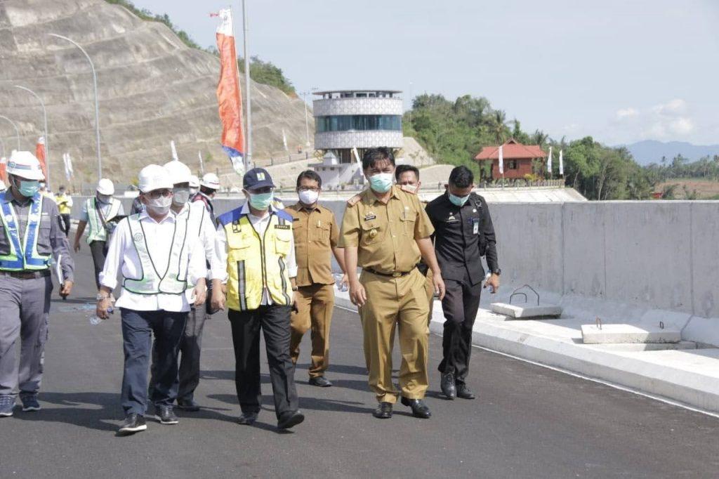 Presiden jokowi dijadwalkan Resmikan bendungan way Sekampung di kabupaten pringsewu