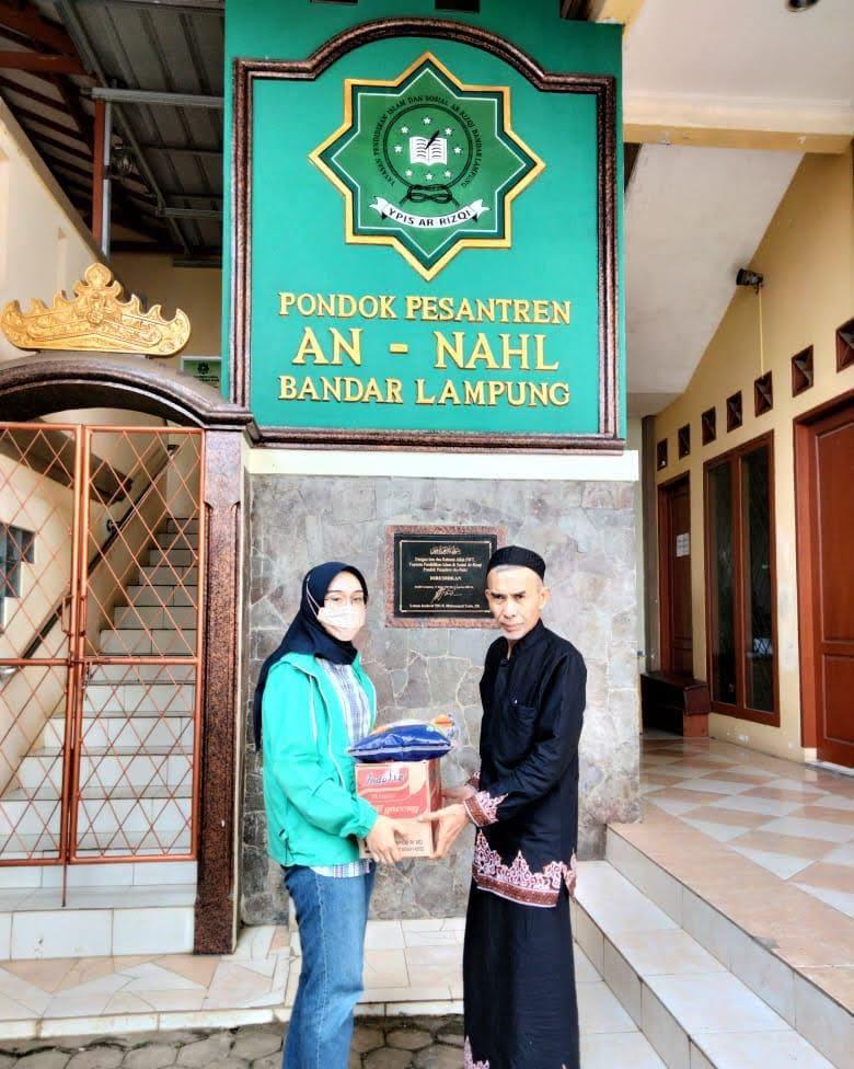 Jum'at berkah bersama DPC PKB Bandar Lampung