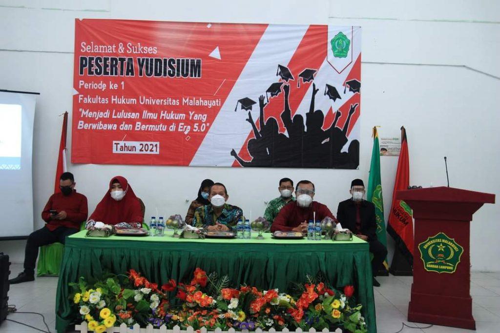 Fakultas Hukum Universitas Malahayati Gelar Yudisium Perdana
