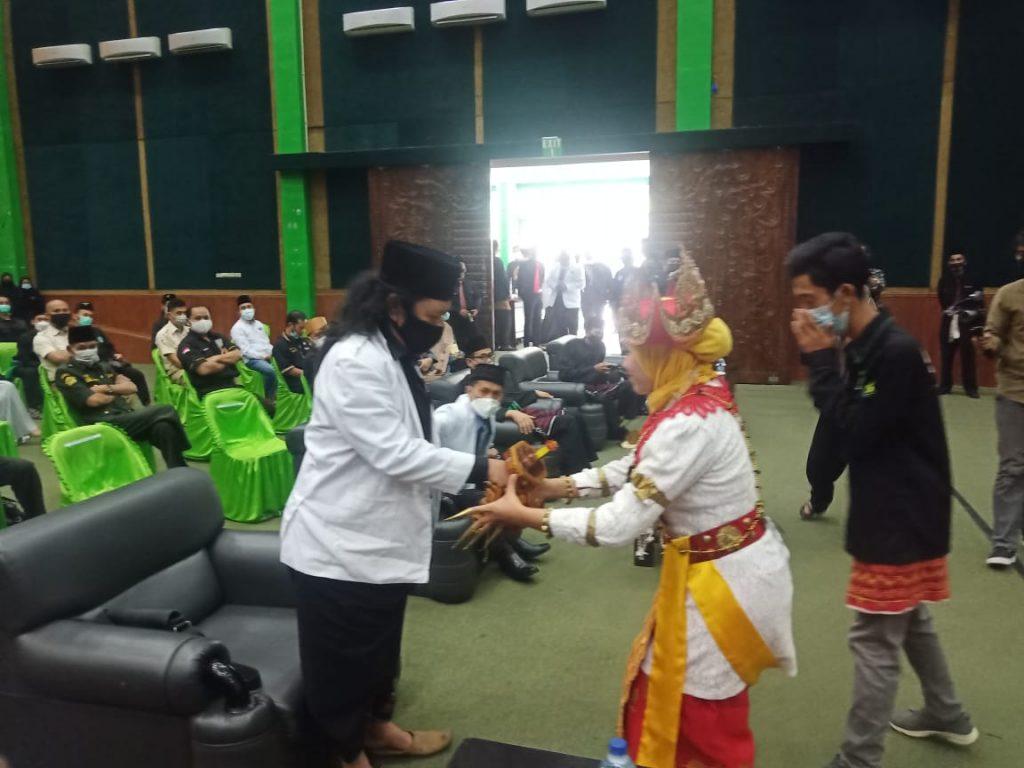 Pengukuhan Kepengurusan Pagar Nusa Provinsi Lampung Digelar di Gedung Graha Bintang Universitas Malahayati