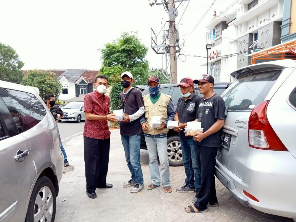 Ilham Alawi Reses di Kemiling, Warga Keluhkan Kebersihan Stadion Mini Kalpataru