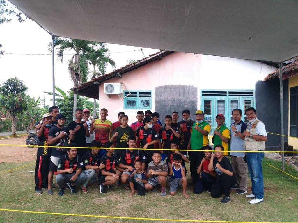 PERTINA Kabupaten Pringsewu Gelar Sparing Partner dan Latihan Bersama Dengan Muaythai Kabupaten Pringsewu